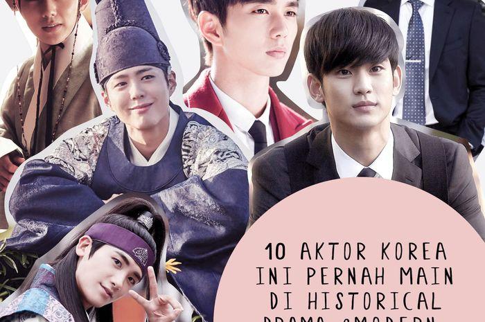10 Aktor Korea Ini Pernah Main Drama Historikal & Modern. Pilih yang Mana?