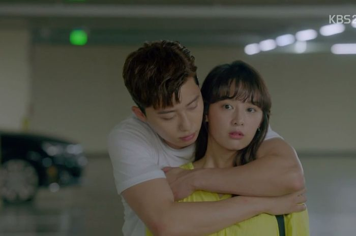 Pelukan jadi salah satu adegan romantis yang paling ditunggu di drama Korea