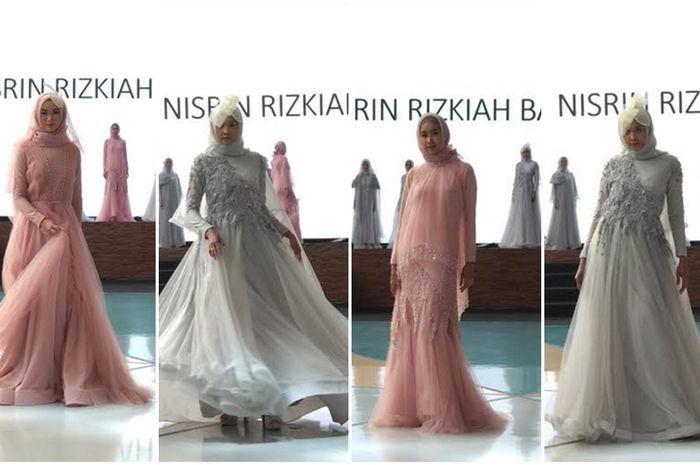 Desainer Muda Nisrin Rizkiah Basalamah Hadirkan Gaun Pesta Muslim