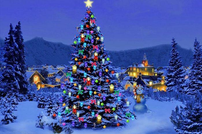 Gambar Pohon Natal Paling Keren