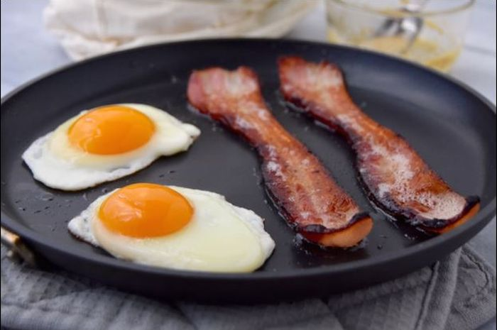 Image result for Telur & Bacon