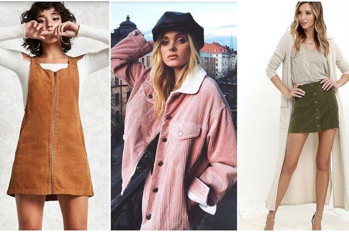 Sempat Hits Di Tahun 90 An Tren Fashion Bahan Corduroy Kini Kembali