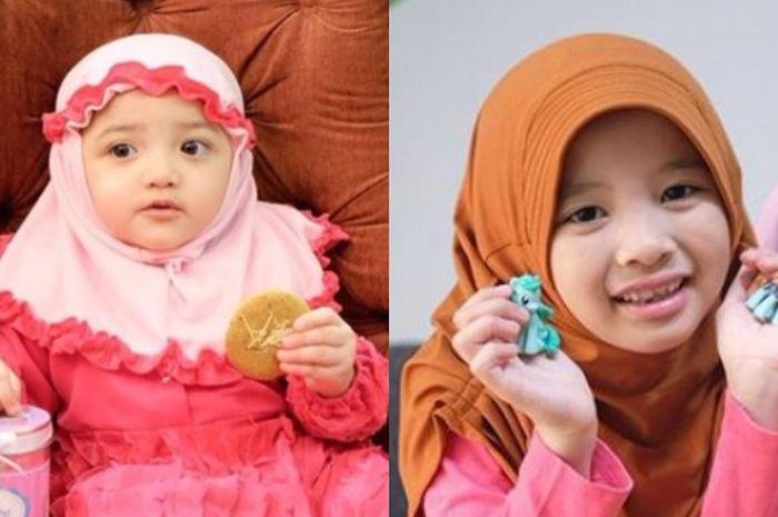 Anak artis pakai hijab