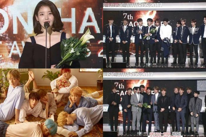 Daftar pemenang Gaon Chart Music Awards 2018.