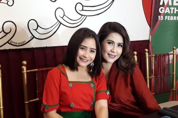 Prilly Latuconsina saat ditemui Grid.ID di restoran Nyonya Judes, Petamburan, Jakarta Pusat, Kamis (15/2/2018).| Lalu Hendri Bagus/Grid.ID