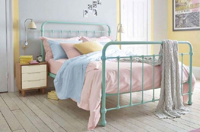 4 Inspirasi Desain Kamar Tidur Shabby Chic Ber a Interior Feminim