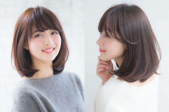 Inspirasi 3 Gaya Rambut Bob ala Gadis Jepang yang Bikin ...