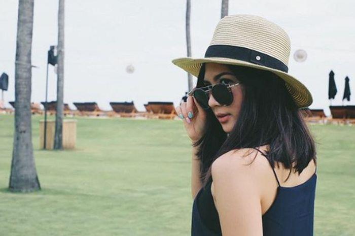 Jessica Milla libur lebaran di Bali. (Instagram)
