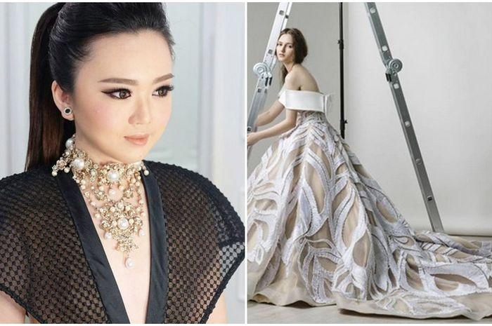 Sosok Monica Ivena Desainer Indonesia Di Balik Gaun Pengantin Mewah