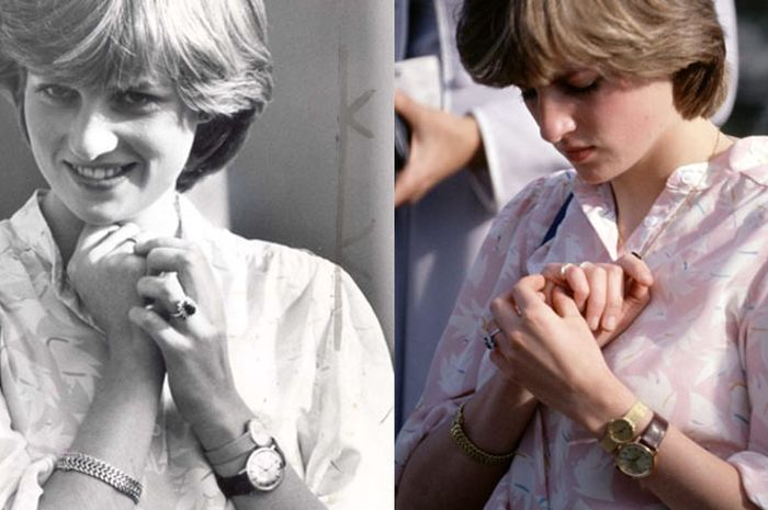 Putri Diana kenakan 2 jam tangan sekaligus 4c1eba2a91
