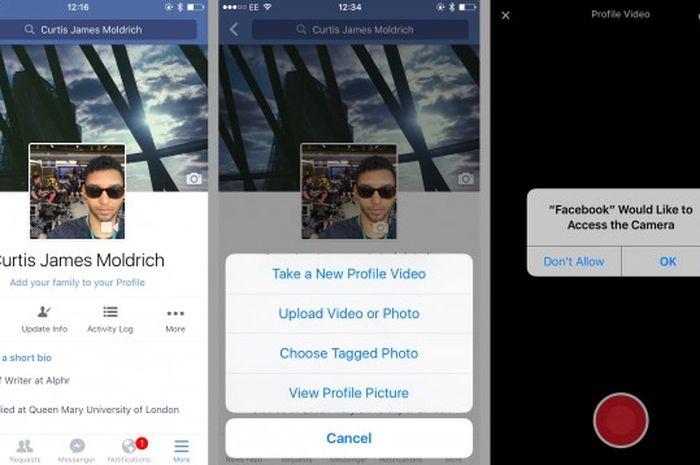 Tips Rahasia Facebook 2 Bikin Foto Profile Animasi Semua