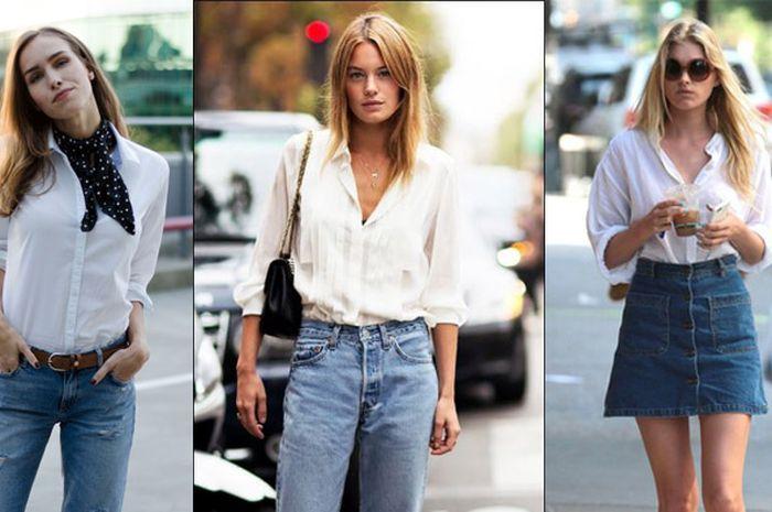 Padukan Kemeja Putihmu Dengan 6 Fashion Item Ini Agar Tampil Lebih