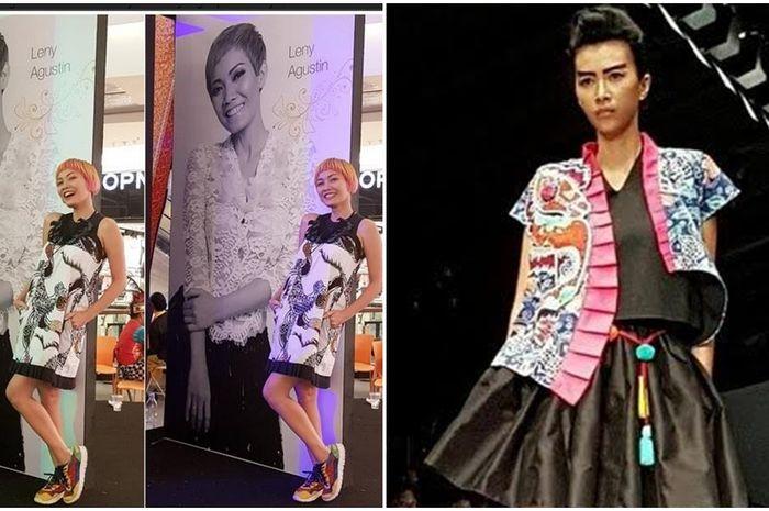 Ini kata desainer Lenny Agustin soal alasan merancang busana batik dengan  gaya yang nyentrik. c11f15747e