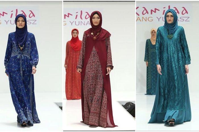 Belanga Wastra Koleksi Busana Muslim Motif Tenun Batik Nusantara