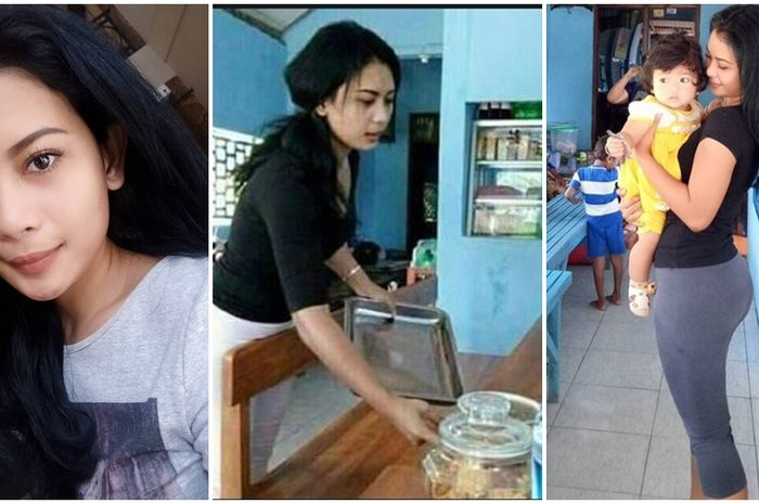 Andita Lela Karlita Penjaga Warung Makan Dan Kopi Yang Cantik Super Seksi Dari Ngajuk