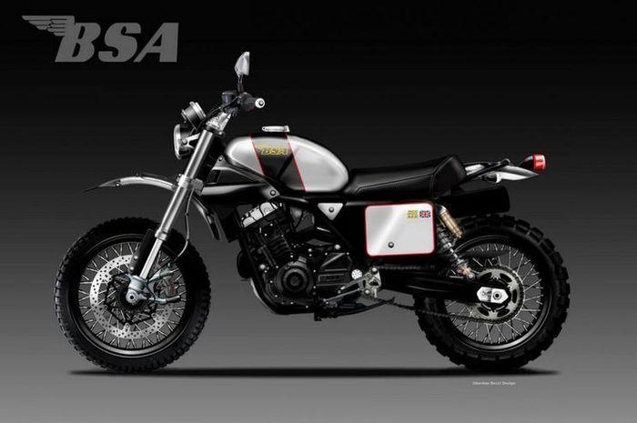 BSA MX 355 Render