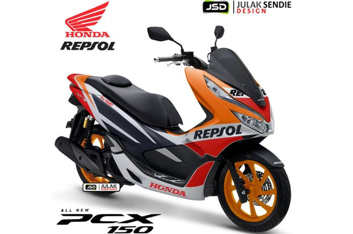 All New Honda PCX 150. Spoty/Racing