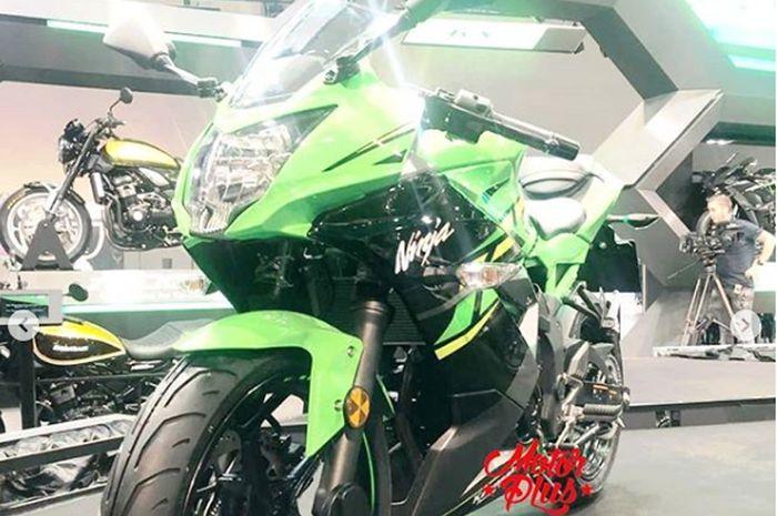 Ninja 125 ternyata buatan Indonesia