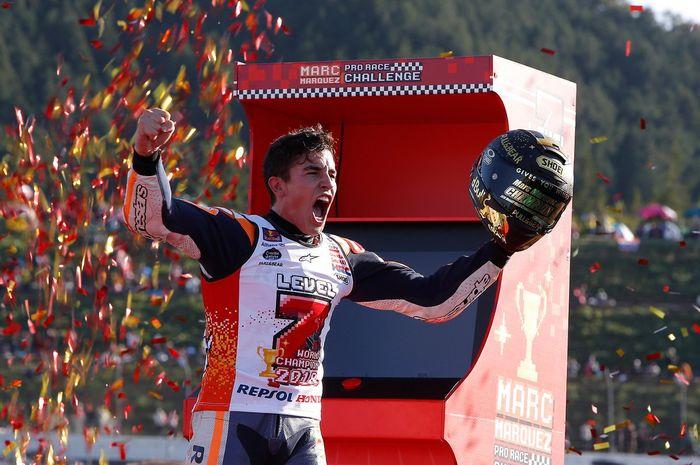 Marc Marquez dinilai bisa juara dunia dengan 3 tim pabrikan