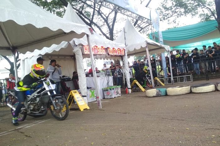 Event drag bike Piala Walikota Tangsel.
