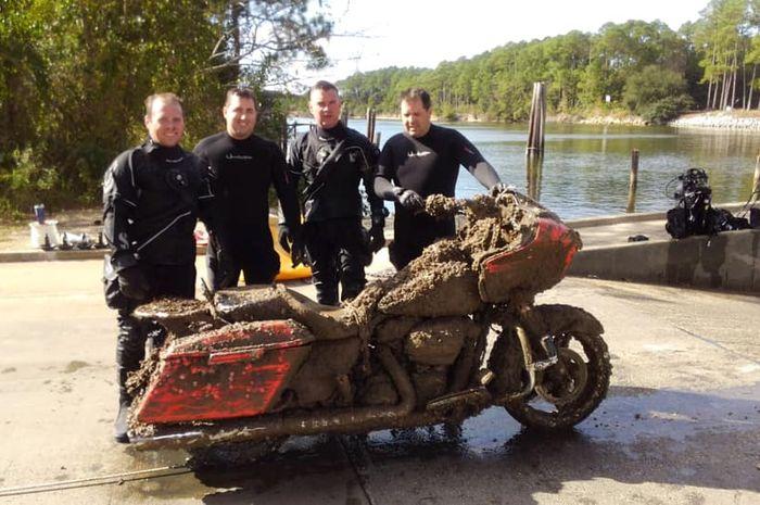 Penemuan Harley-Davidson di bawah laut