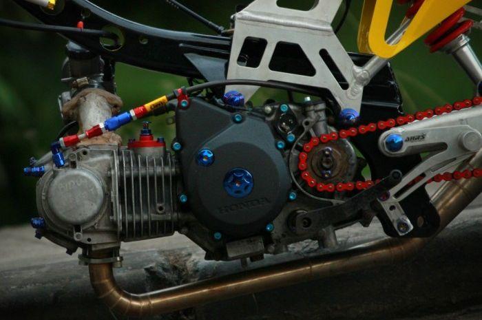 Modifikasi Honda Supra X 125 Jagoan Balap Malam Dan Kontes Bro