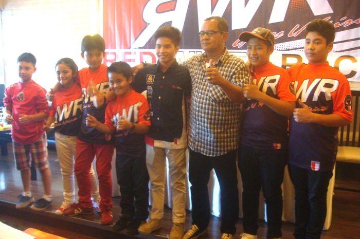 Red White Racing Siapkan Pembalap Muda Indonesia