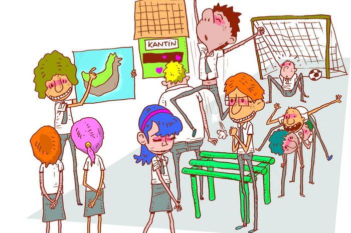 10 Hal Yang Bikin Kangen Sekolah Di Saat Libur Hai