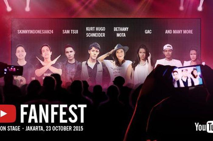 Harga Tiket Youtube Fanfest Indonesia Rp 0 Semua Halaman Hai