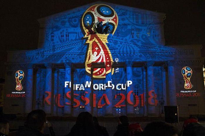 Logo resmi Piala Dunia 2018 Rusia