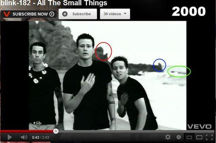 Video klip All The Small Things
