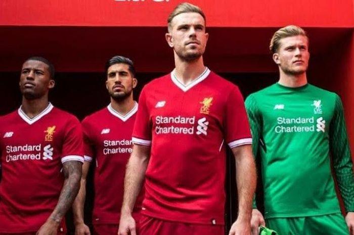 Jersey baru Liverpool