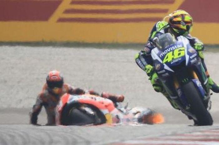 Valentino Rossi vs Marc Marquez
