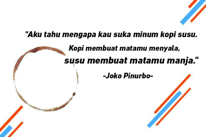 5 Puisi Tentang Kopi Dari Penyair Joko Pinurbo Asik Untuk Caption