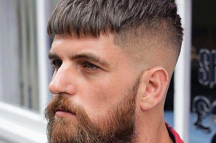 77412 gaya rambut caesar cut