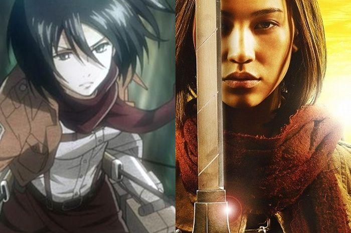 Attack On Titan Mikasa Ackerman Diperankan Kiko Mizuhara