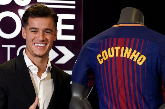 Nomor Berapa Coutinho di Barca?