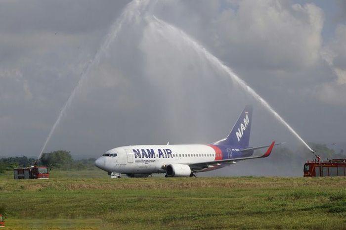 NAM Air Adalah Maskapai Yang Paling Jarang Telat