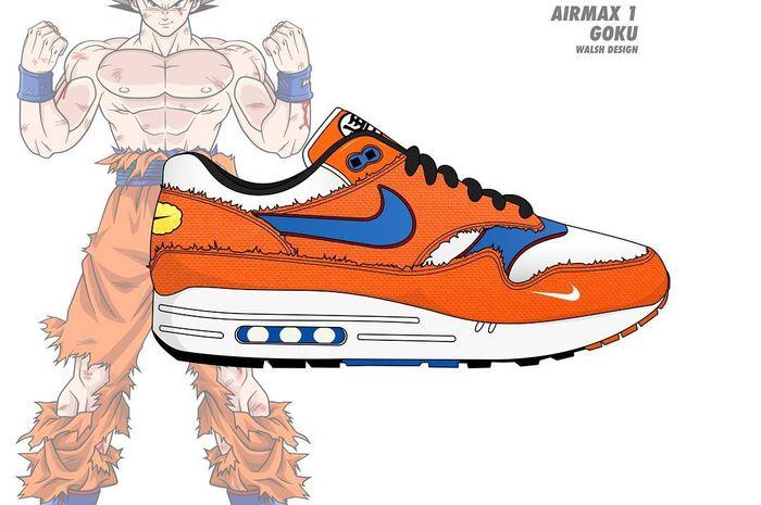 Son Goku x Nike