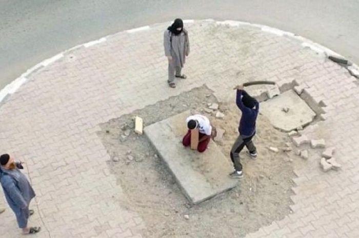 Foto-foto mengerikan yang tertangkap drone