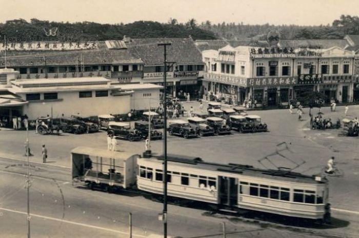 Begini Tampilan Kota Dki Jakarta Pada Tahun 1941 Masih Sepi Semua Halaman Hai