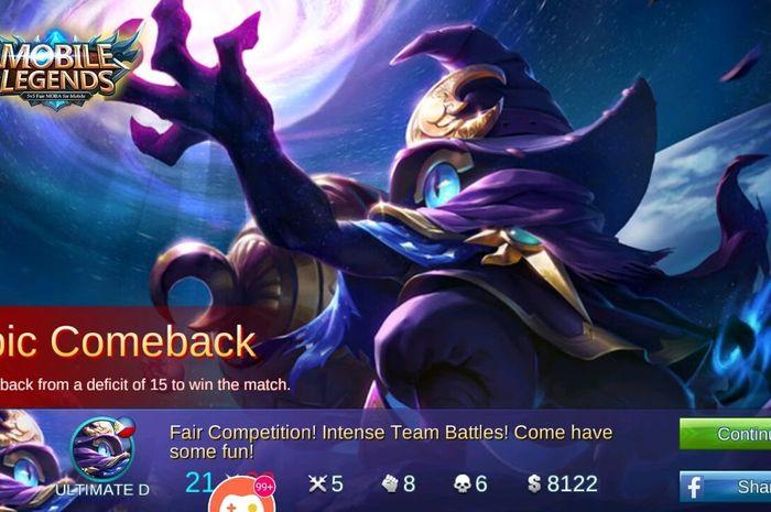 3 Cara Epic Comeback Di Mobile Legends Ketika Tim Kamu Sudah