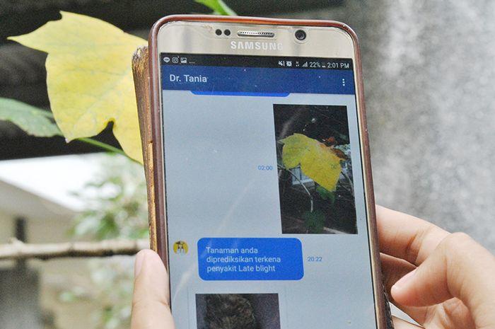 Dr.Tania, aplikasi inovasi buatan mahasiswa ITB (Foto: Dok. ITB)