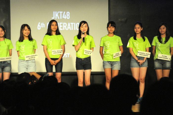 Para member generasi 6 JKT48