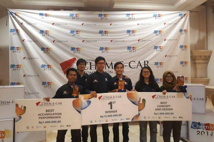 Tim Spektronics asal ITS menang kompetisi di Malaysia (Foto: Situs ITS)