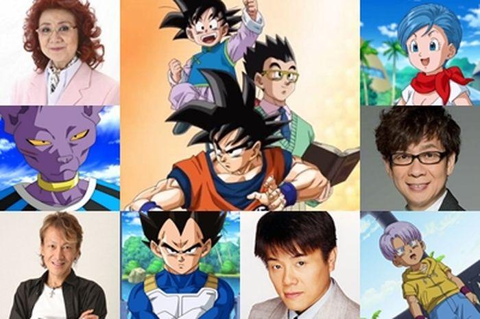 Pengisi Suara Dragon Ball Super