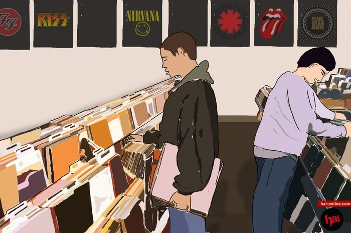 Ilustrasi Record Store Day