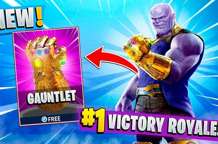 Thanos di Fortnite