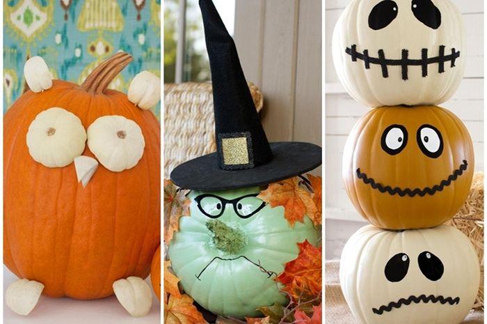 Ide Dekorasi Dari Labu Untuk Menyambut Halloween Semua Halaman