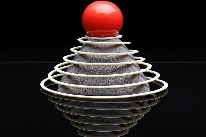 Karya Dinara Kasko, arsitek yang hobi membuat kue.